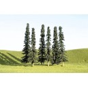 "Conifer Trees 3""-4"" (9pk)"