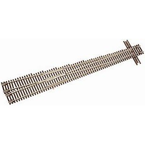 Code 55 Track w/Nickel-Silver Rail & Brown Ties - No 10 Right Turnout