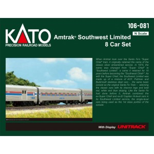 Amtrak Southwest Limited 8 Car Set