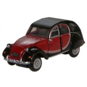 Citroen 2CV Charleston - Maroon/Black
