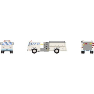 Ford C Fire Truck - White