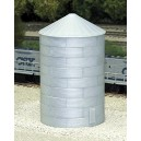 40' Tall Corrugated Grain Bin