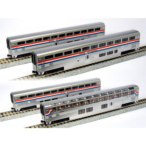 Superliner Amtrak Phase III 4-Car Set B
