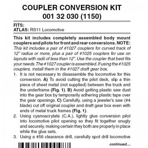 (1150) Atlas RS11 Conversion Kit (1pr)