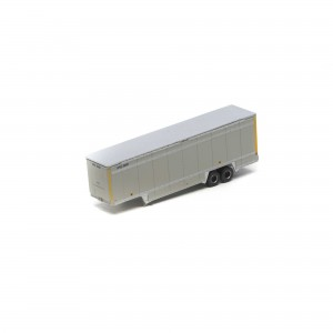 40' Drop Sill Parcel Trailer - UPS/Yellow Stripe 2
