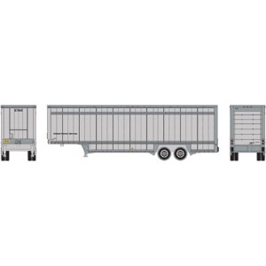 40' Drop Sill Parcel Trailer - UPS/No Logo 87999