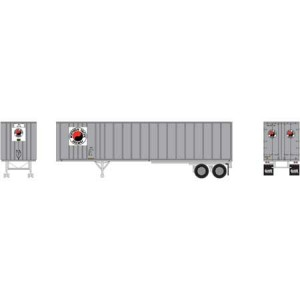 40' Fruehauf Z-Van Trailer - Northern Pacific 20-745