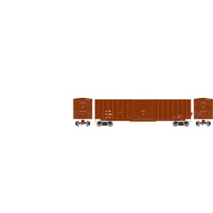 SIECO 50' Box Car - Chattahoochee Industrial Railroad 13014