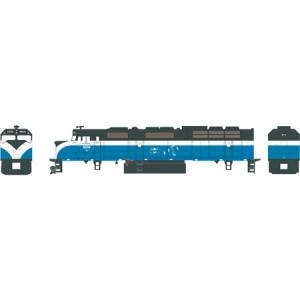 EMD F45 - Burlington Northern 6606 (DC,DCC & Sound)