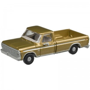 F-100 Pickup Truck - Sequoia Brown (2pk)