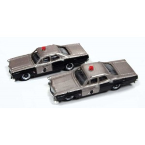 1967 Ford - State Highway Patrol Cars (2pk)