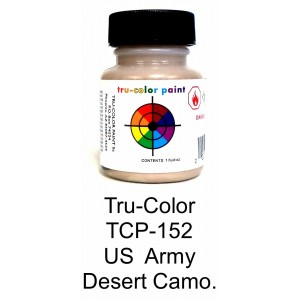 Solvent Based Paint - US Army Desert Camoflage Light Brown