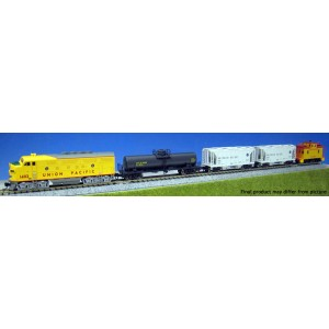 F7 Freight Train Set - Union Pacific (DC,DCC & Sound)