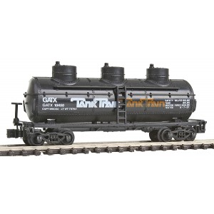 40' 3 Dome Tank Car - TankTrain 10452