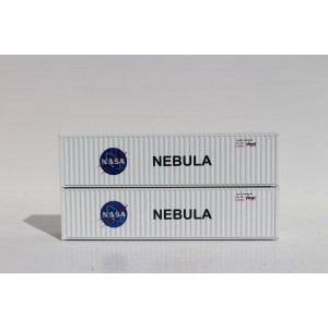 40' High Cube Containers - NASA Nebula (2pk)
