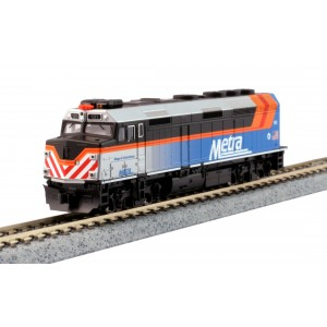 F40PH - Chicago Metra 181 (DCC Equipped)