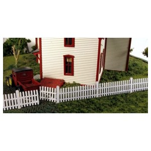 Straight Picket Fence