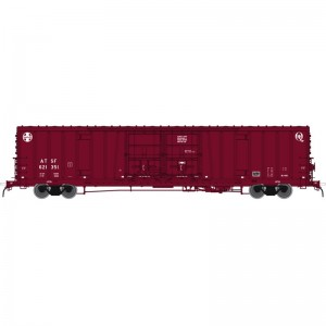 BX-166 Box Car - Santa Fe Early Q Logo 621515