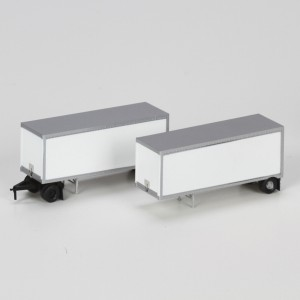 28' Wedge Trailers with Dolly - Owner Operator (2pk)