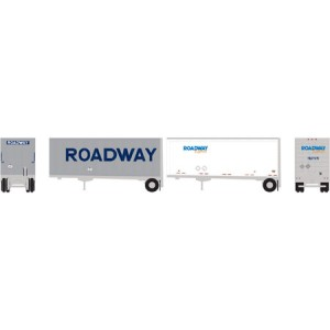 28' Wedge Trailers with Dolly - Roadway (2pk)