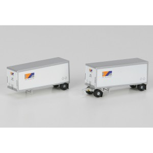28' Wedge Trailers with Dolly - YRC (2pk)