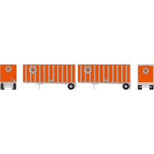 28' Wedge Trailers with Dolly - Ringsby (2pk)
