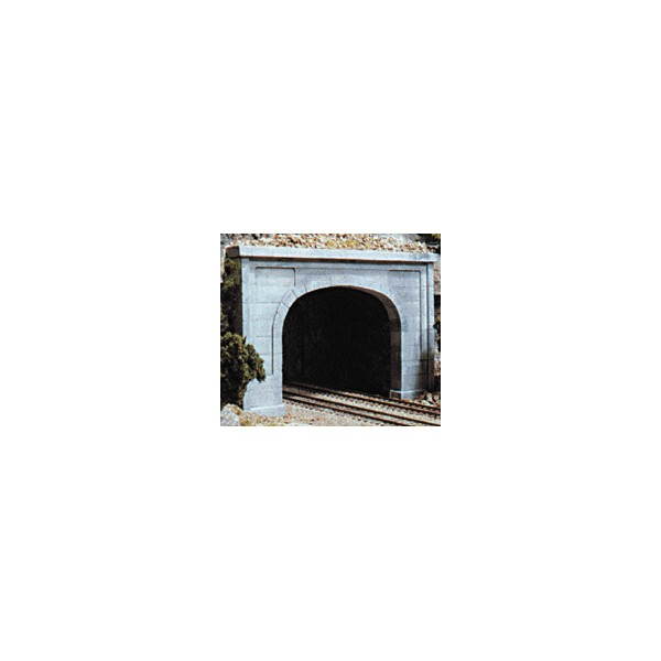 Tunnel Portals Double Track Concrete 2 N Scale