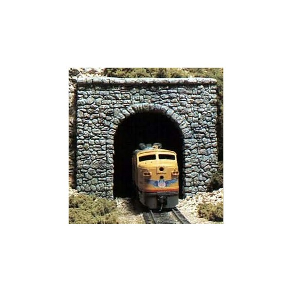 Tunnel Portals Single Track Random Stone 2 N Scale