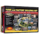 Town & Factory Building Set