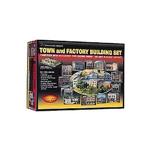 Town & Factory Building Set
