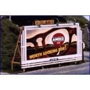 Laser Cut Wood Billboard - Grill 1940s-1960s