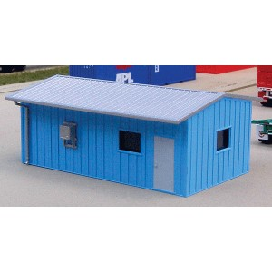 Armco Yard Office - Blue