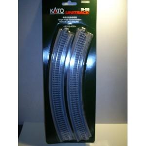 "Unitrack Single Track Curved Viaduct R315-45' (R12 3/8""-45') (2p"