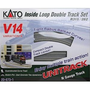 Unitrack V14 Inside Loop Double Track Set