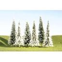 """Pine Trees w/Snow 3""""-4"""" (9pk)"""