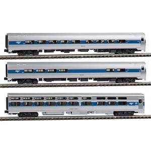 Amfleet Viewliner Intercity Express Phase VI 3 Car Set