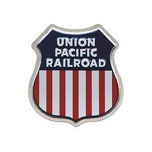Union Pacific Railroad Metal Sign
