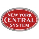 New York Central Metal Sign