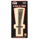 Code 55 Track w/Nickel-Silver Rail & Brown Ties - No 5 Right Hand Turnout