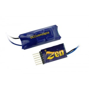 ZEN 6 PIN Direct 2 Function Decoder w/Stay Alive