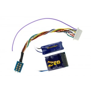 Z218 ZEN 218 21 & 8 Pin 4 Function Decoder w/Stay Alive
