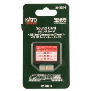 Soundbox Sound Card - GE 3rd Generation Diesel