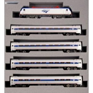 ACS-64 and Amfleet I Phase VI 5-Unit Bookcase Set