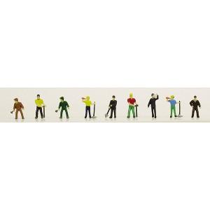 Railroad Personnel - Work Crew (9pk)