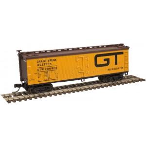 40' Wood Reefer - Grand Trunk Western 206924