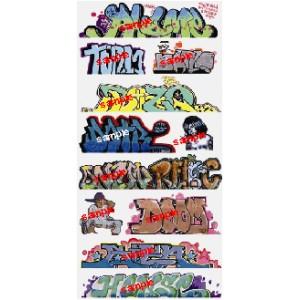 Graffiti Decals Mega Set 10 (11pk)