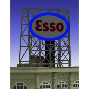Flashing Billboard - Esso