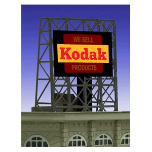 Flashing Billboard - Kodak
