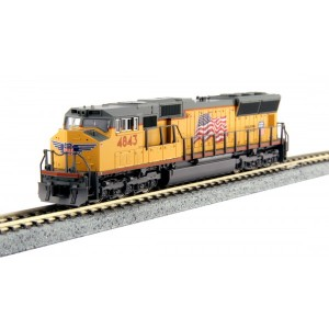 EMD SD70M - Union Pacific 4843 (DCC Equipped)