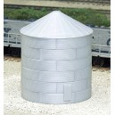 30' Tall Corrugated Grain Bin